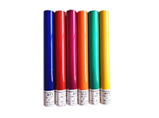 Candy color powder coating