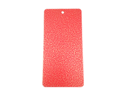 red texture powder coatings