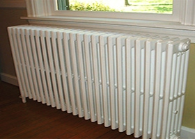 Electric heater casing